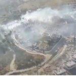 Declarado un Incendio Forestal en Manilva