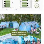 Tienda de campaña familiar, hasta 12 personas, con la garantía de AMAZON